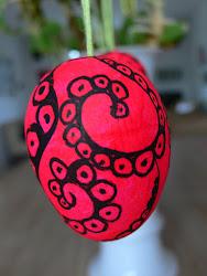 Sådan laver du æg med mønster...