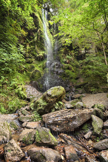 Mallyan Spout waterfall at Goathland North Yorkshire by Martyn Ferry Photography