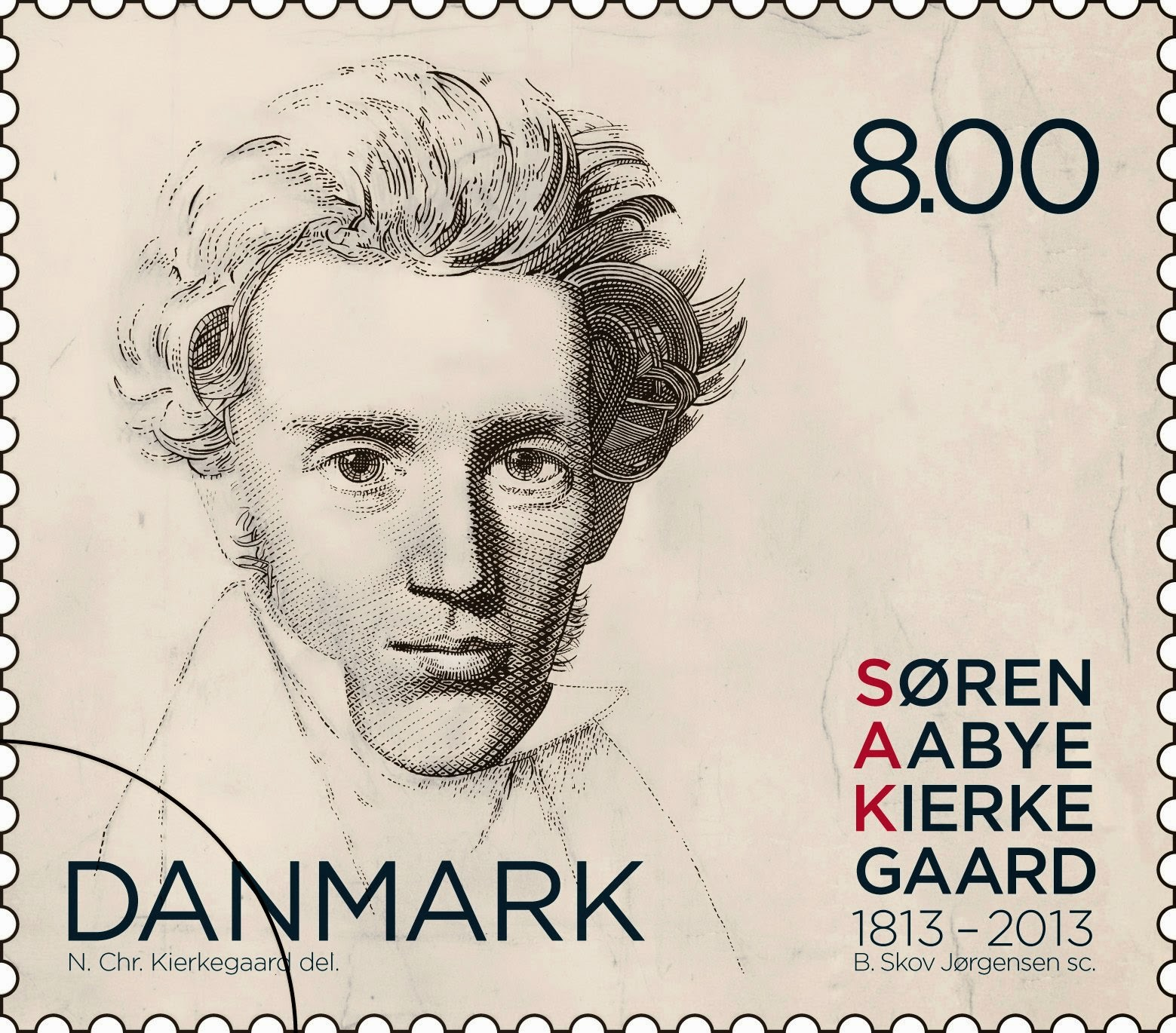 Soren Kierkegaard, walking, walk, exercise, stamp