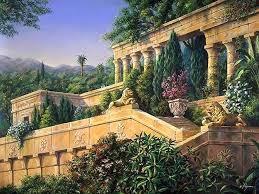 Ana Los Jardines Colgantes De Babilonia Y Chichen Itza