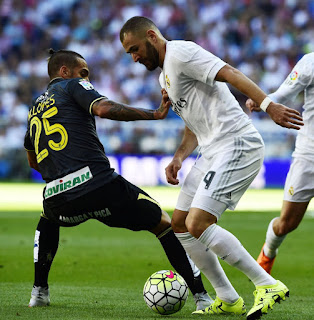 Real Madrid vs Granada Liga 2015