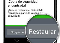 Restaurar Chats de WhatsApp borrados