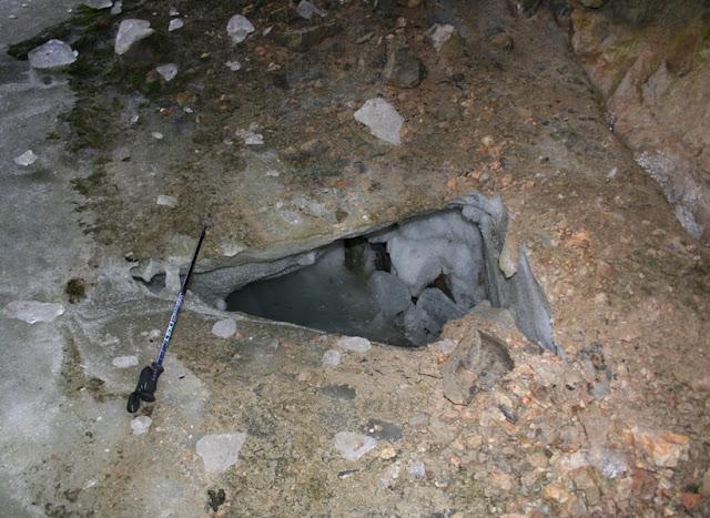 Cueva Hielo Peña Castil -  Cova Xelu