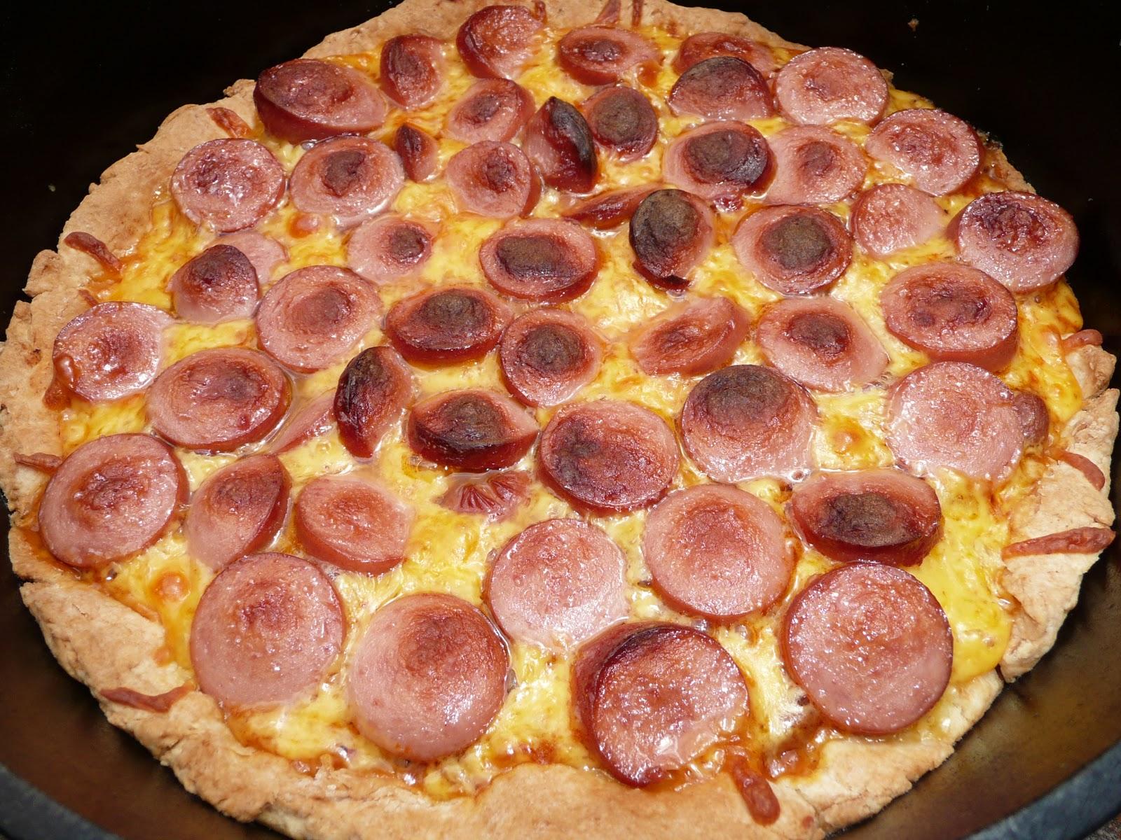 Hot Dog Pizza Crust Recipe