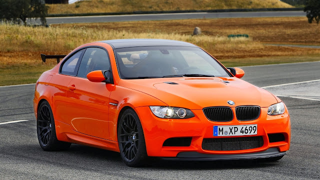 BMW M3 GTS Orange Car HD Wallpaper
