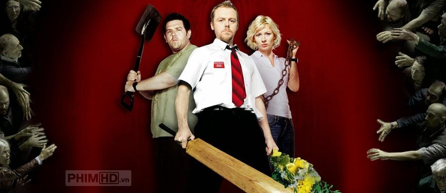 Phim Giữa Bầy Xác Sống VietSub HD | Shaun of the Dead 2004