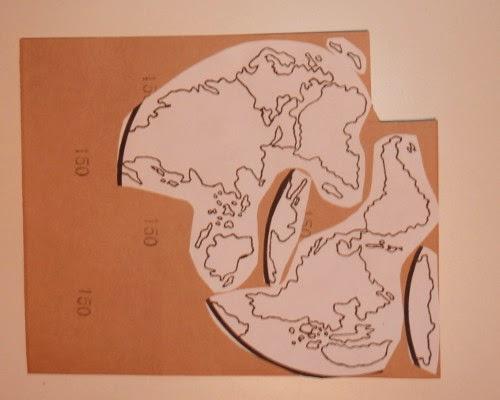 Connu Crapouillotage: Planisphère Lisses & Rugueux IY61