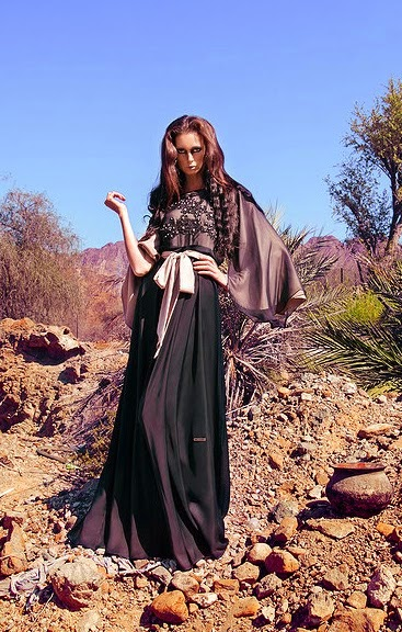 Best And Stylish Western Abaya Designs