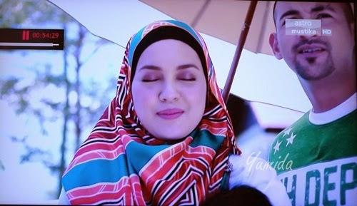 Gambar Bukan Kerana Aku Tak Cinta Episod Akhir, scene episod akhir Bukan Kerana Aku Tak Cinta, Jebat, Mastura