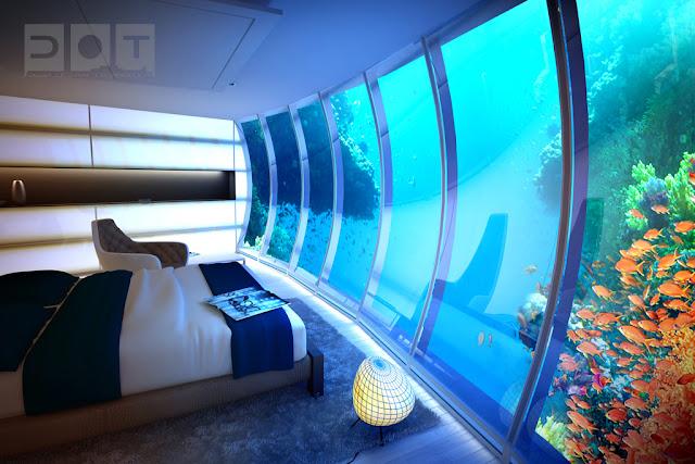 Hotel debaixo de água Dubai