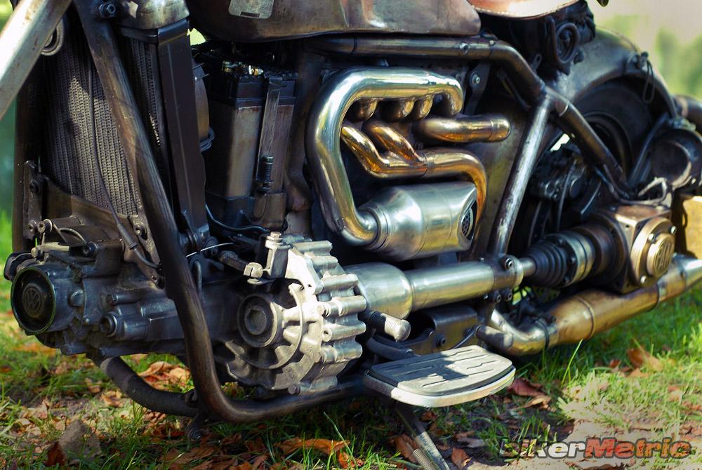 volkswagen golf custom motorcycle engine | fotoduda
