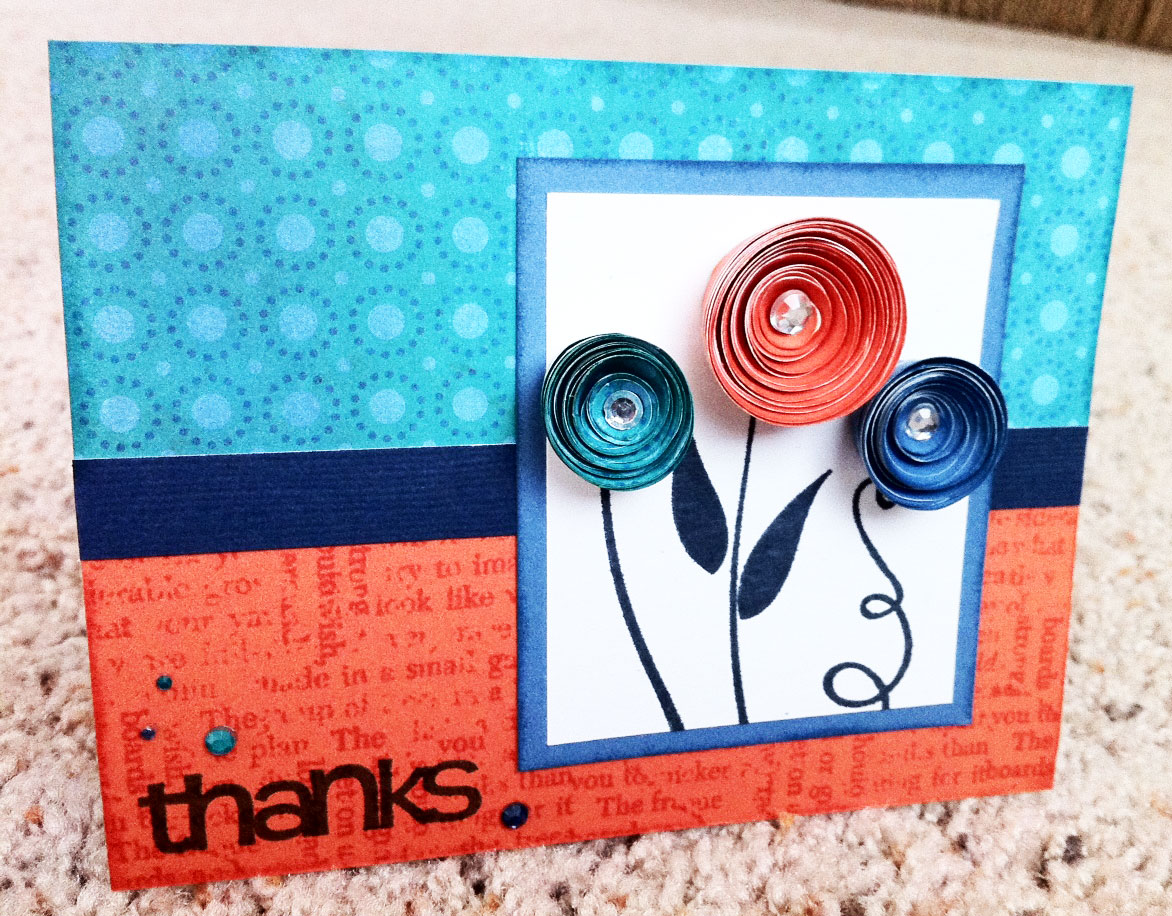 Playing With Paper Scrapbooks Cards Diy Swirly 3d Rosette
