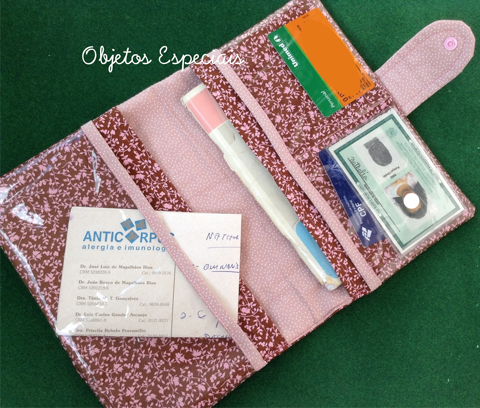 capa carteirinha vacinação bebe infantil patchwork tecido