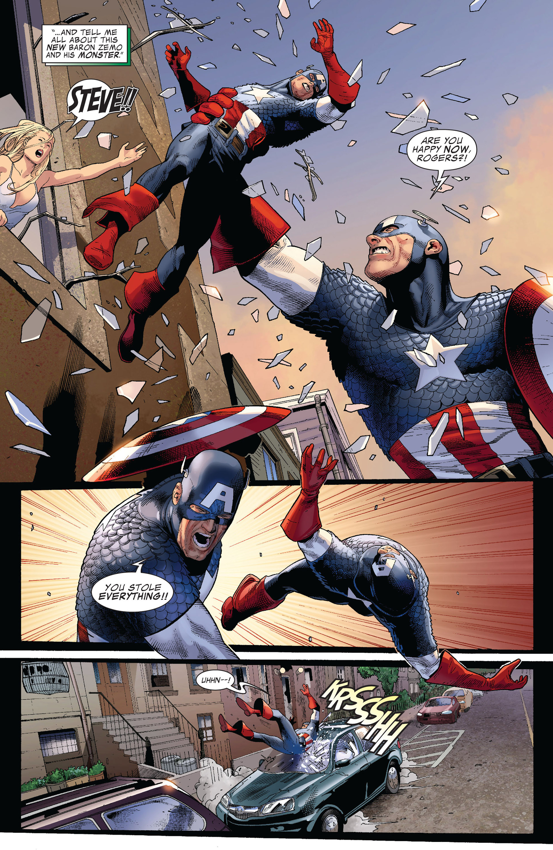 Captain America (2011) Issue #3 #3 - English 5