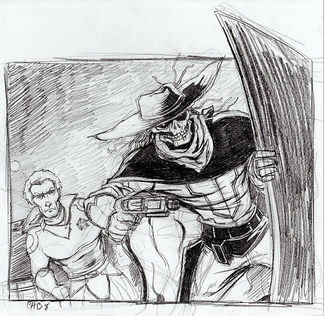 Galaxy Ranger sketch por Rashomonchb