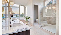 Stunning Frameless Shower Bathroom Giving an elegant Bathroom Design