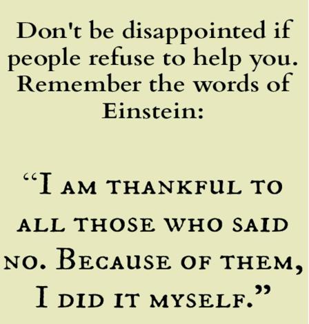 Albert Einstein Quote I AM Thankful