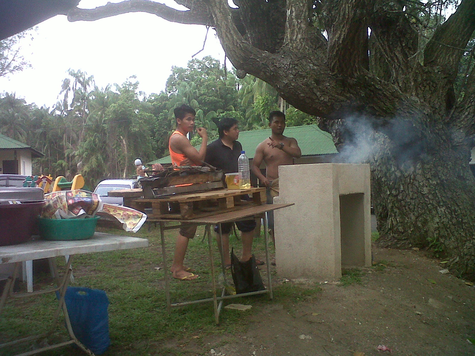 try your skill at painting umang umang chalet mempelawa pengunjung