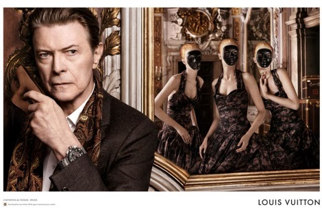 David Bowie by David Sims for Louis Vuitton
