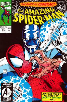 Spider-Man 377 Cardiac