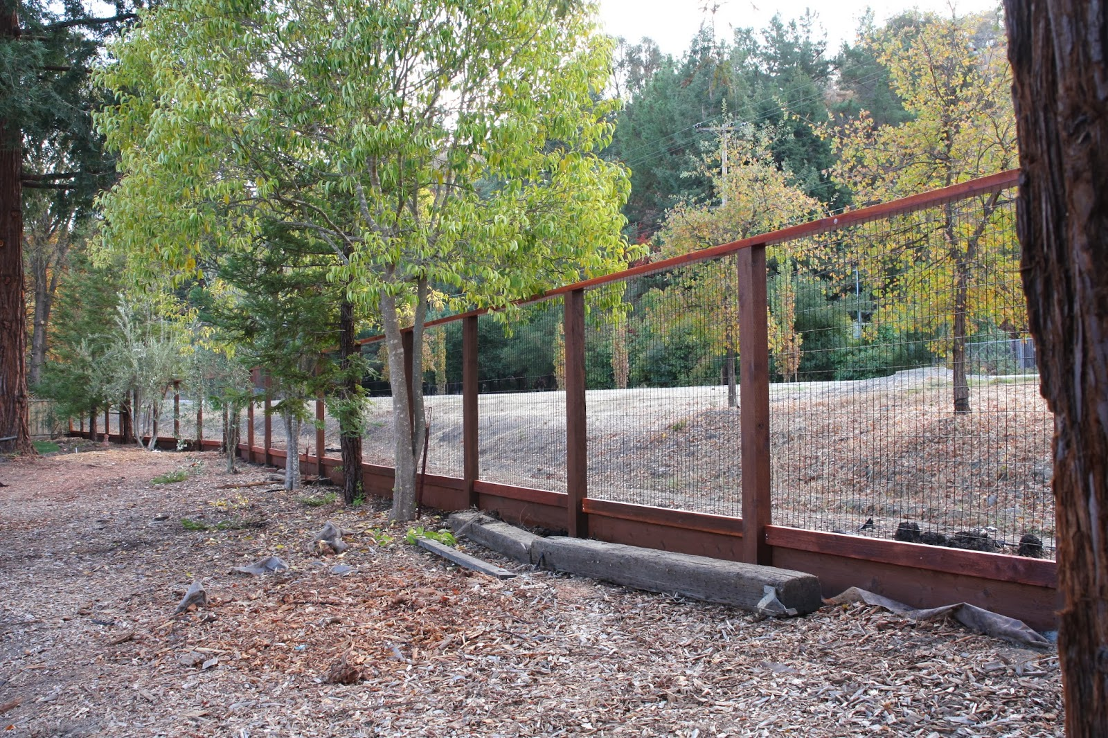 Simply Organized Outdoor Update Deer Fence