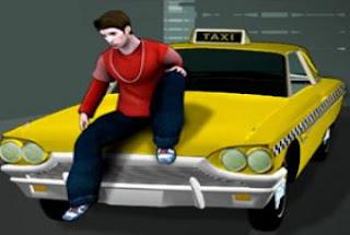 لعبة كريزى تاكسى