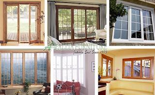 Model bentuk jendela rumah minimalis