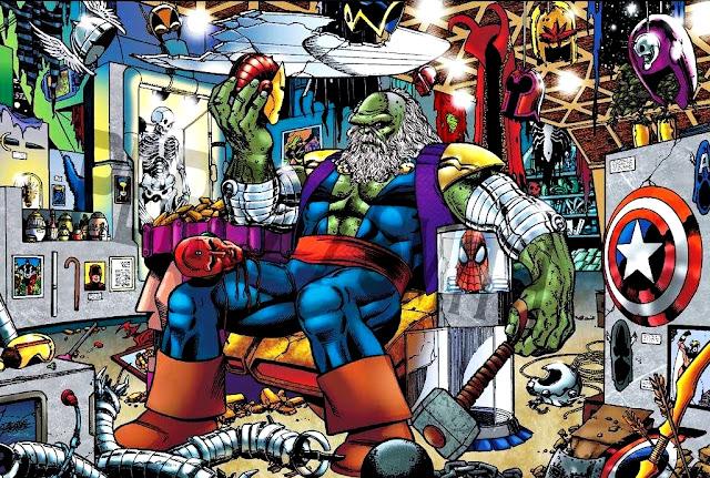Maestro, un Hulk malvado