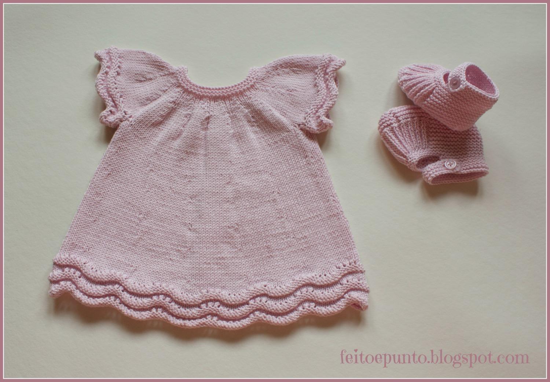 Cómo se hace... vestido de punto para bebé | Manualidades