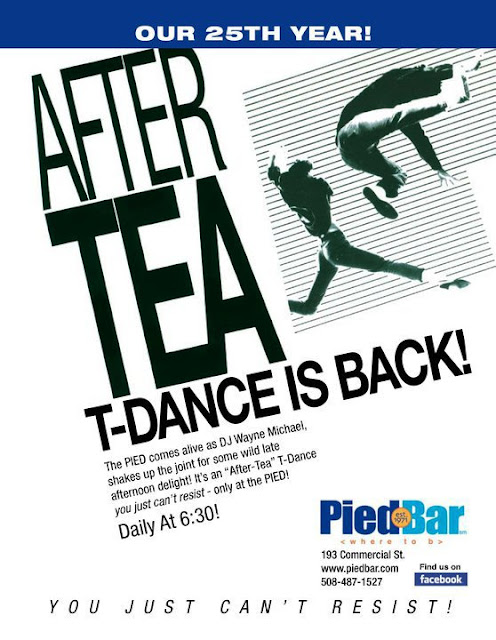 Daily - 630pm After Tea T-Dance @PiedBar