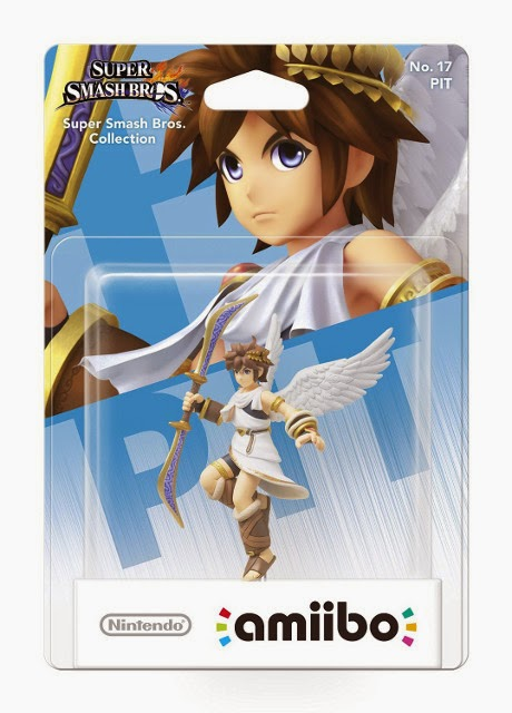 JUGUETES - NINTENDO Amiibo - 17 : Figura Pit | Kid Icarus   (19 diciembre 2014) | Videojuegos | Muñeco | Super Smash Bros Collection  Plataforma: Wii U & Nintendo 3DS