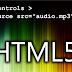 Add music to your website by HTML5