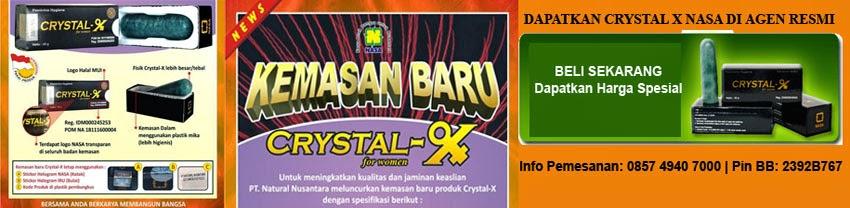 Manfaat crystal x | Harga crystal x | Perbedaan crystal x asli dan palsu | Crystal x asli nasa