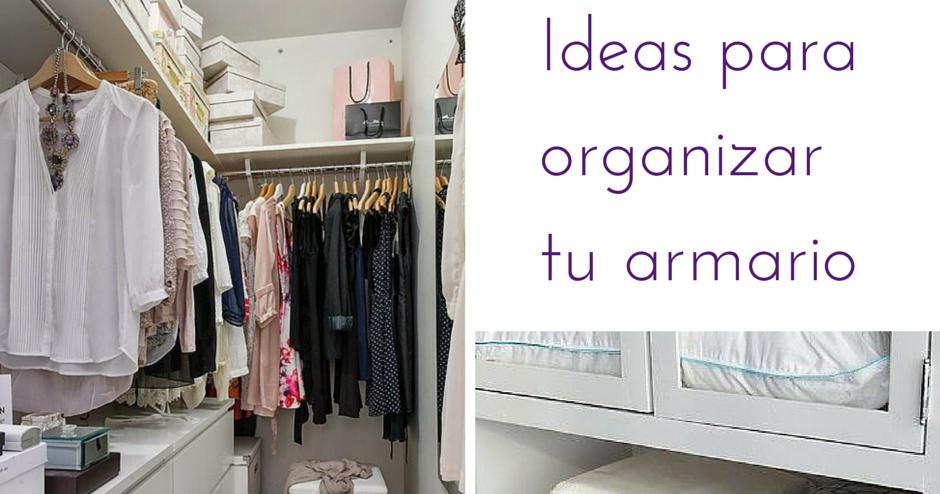 Hogar diez c mo ordenar nuestro armario - Como ordenar tu armario ...