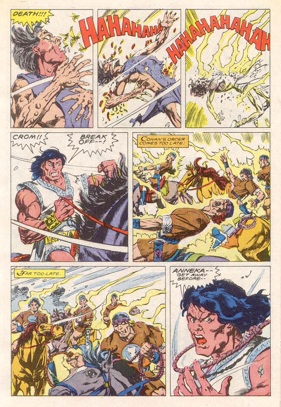 Conan the Barbarian (1970) Issue #193 #205 - English 15