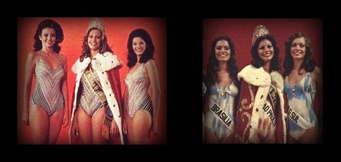 MISSES UNIVERSO BRASIL TOP TRES 1976 E 1977