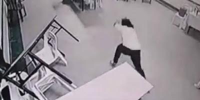 Video 'Hantu' Mengamuk di Hotel Gemparkan Jagat Maya