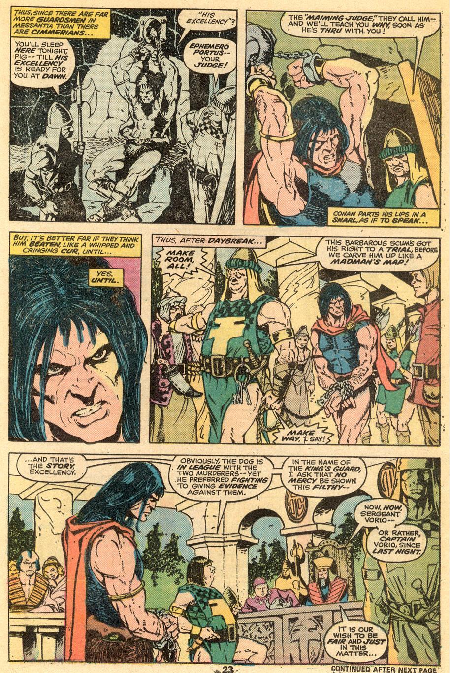 Conan the Barbarian (1970) Issue #57 #69 - English 15