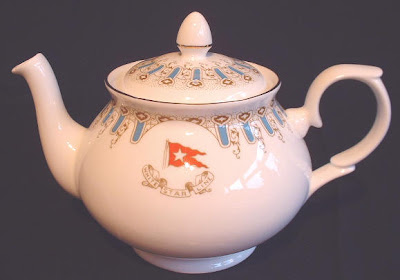 L'afternoon tea Titanic+Wisteria+teapot