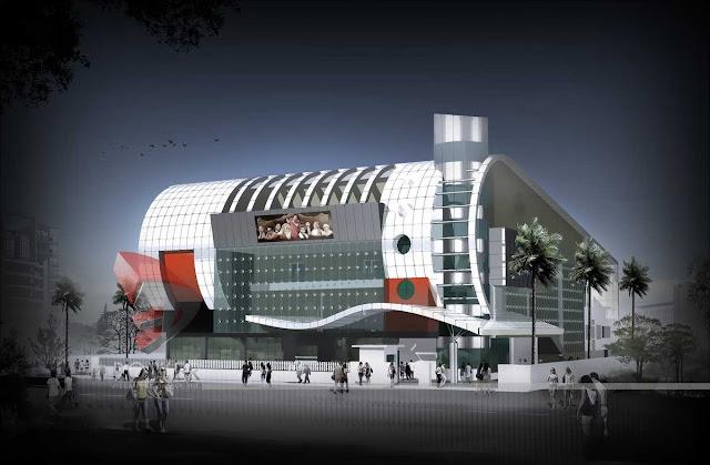 3d Multiplex Design,3d architectural design