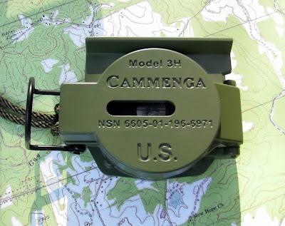 "El ""jeep""de las brújulas: La Lensática (US Military) - Cammenga P5300011"