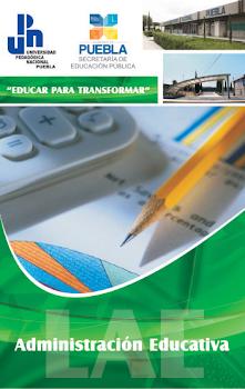 LICENCIATURA EN ADMINISTRACIÓN EDUCATIVA (ESCOLARIZADA)