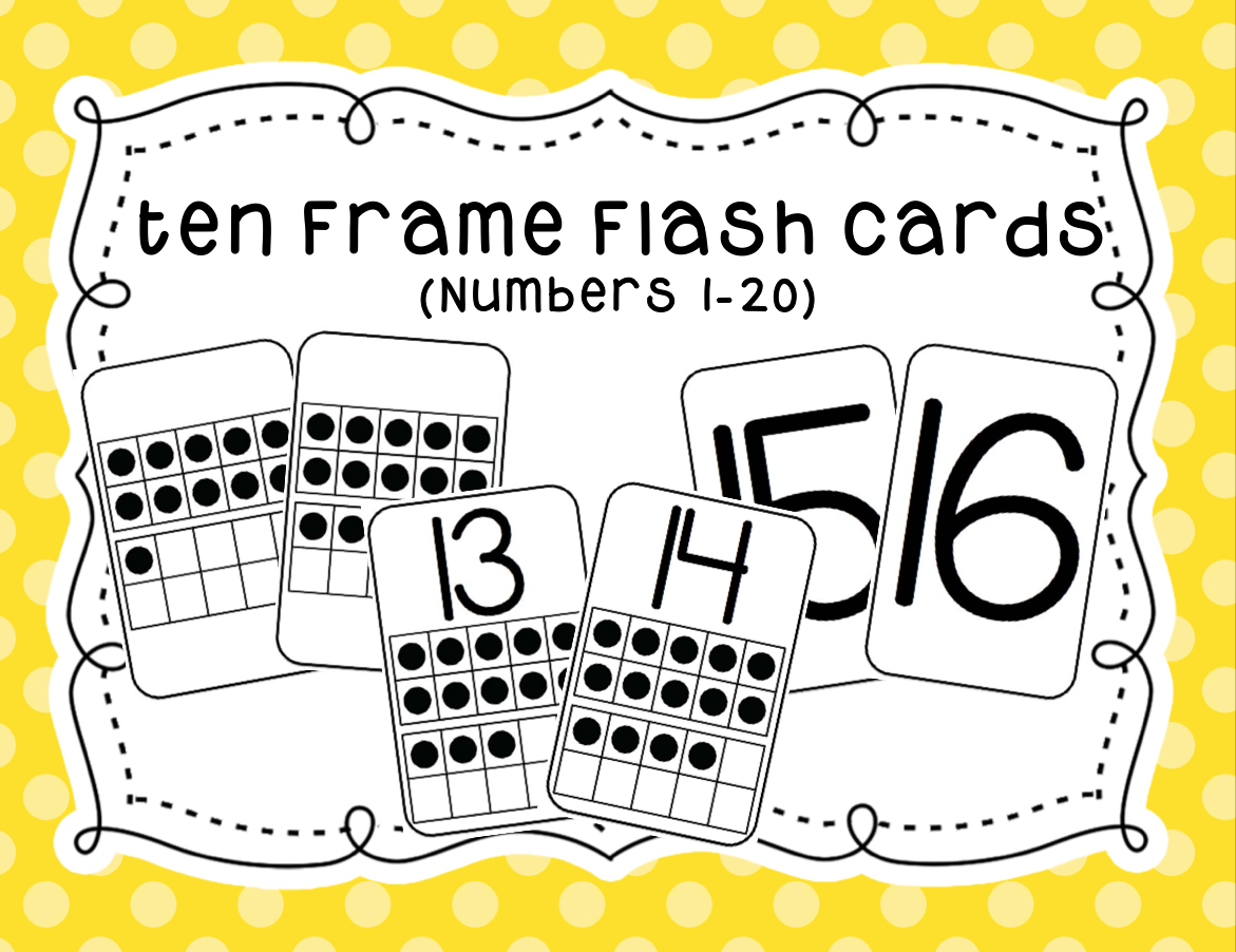 https://www.teacherspayteachers.com/Product/Ten-Frame-Flash-Cards-1725480