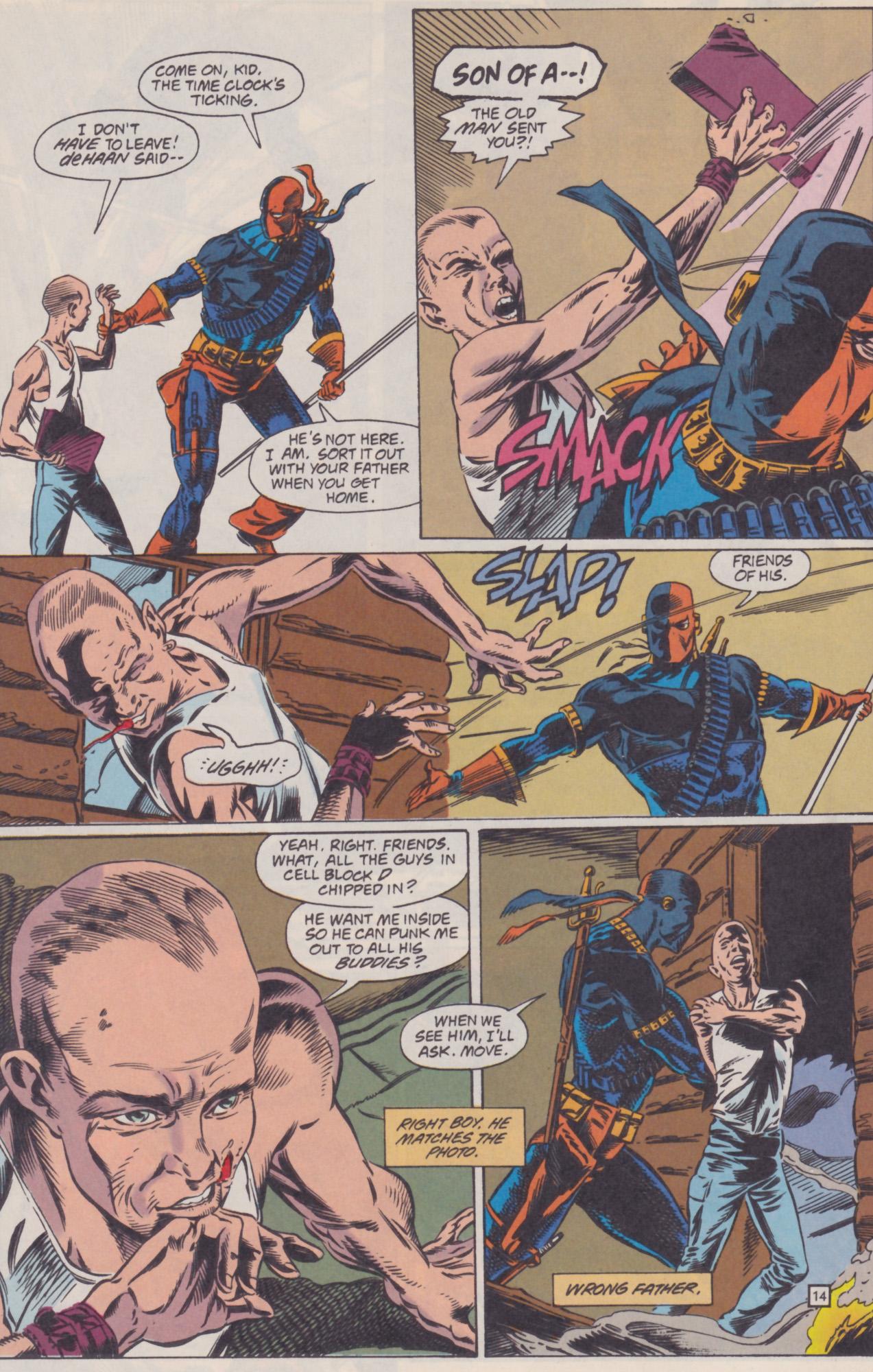 Deathstroke (1991) Issue #22 #27 - English 15