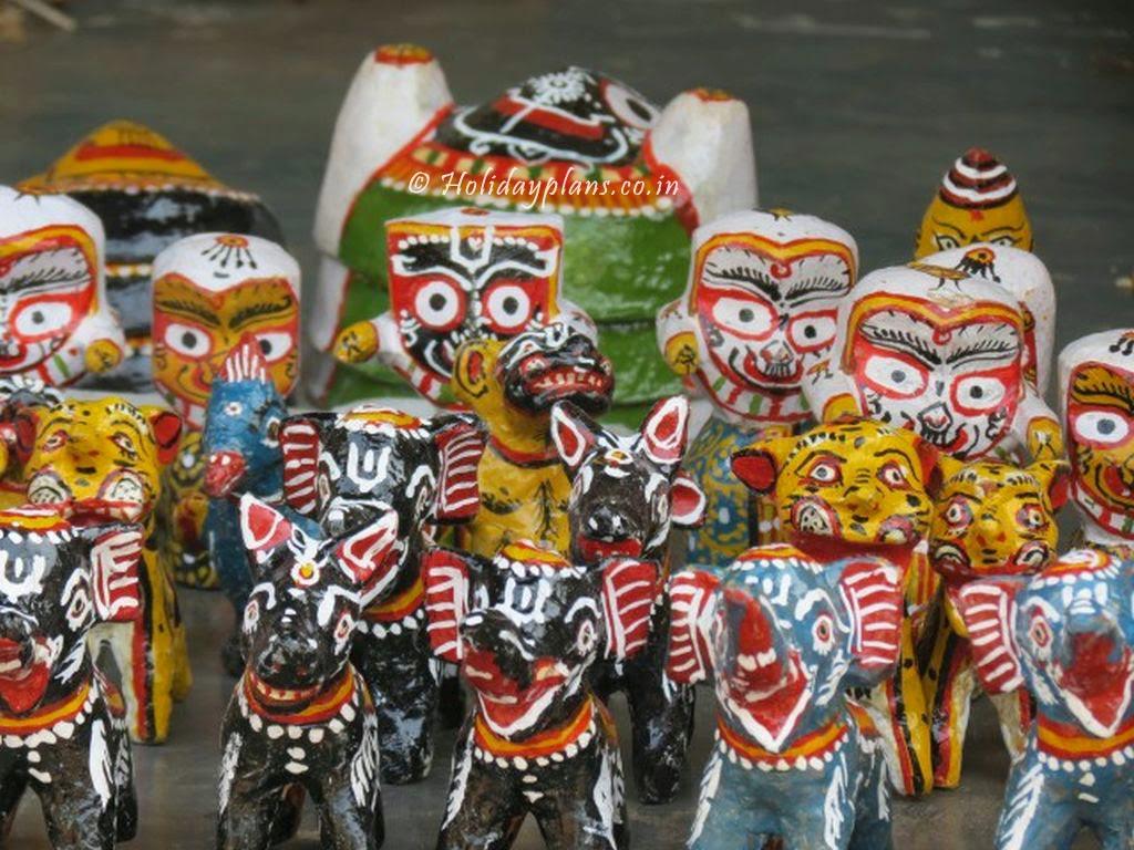 Handmade Handicrafts at Raghurajpur