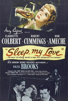 Poster for Sleep, My Love (1948)