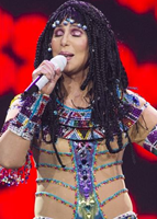 Cher in Indianapolis on her Dressed To Kill Tour