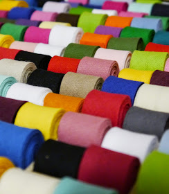 Dundee, craft shop, grand opening, sewing, crafting, DIY, supplies, haberdashery, The Haberdashery Project, new store, colour, bias binding, binding, sewing