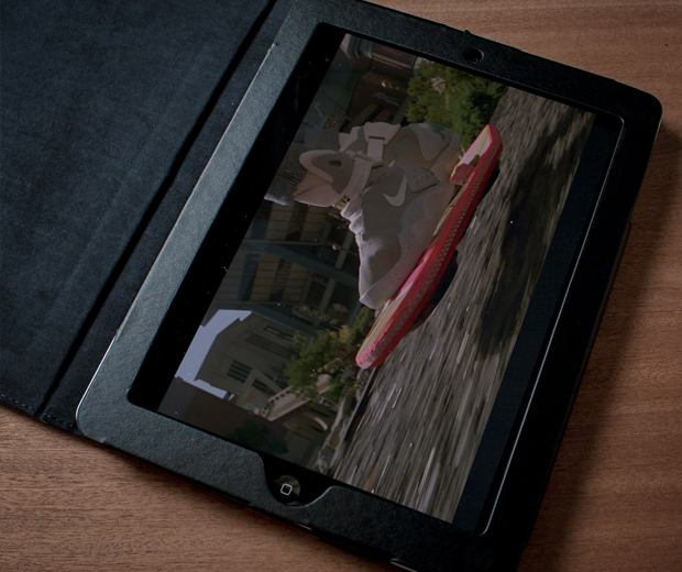 Back To The Future iPad Cover