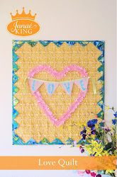 &#39;Love&#39; Quilt Pattern
